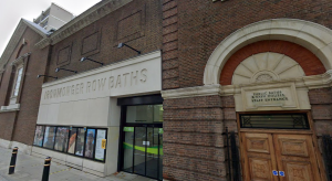Ironmonger Row Baths, in St Luke's (credit Google)