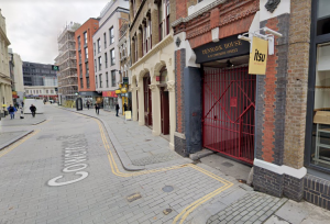 Cowcross Street in Farringdon, where a food market has won permission to operate