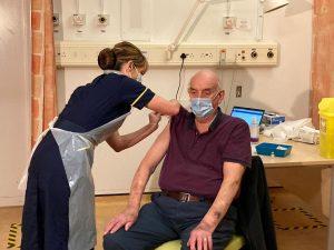Vaccination (credit NHS England)