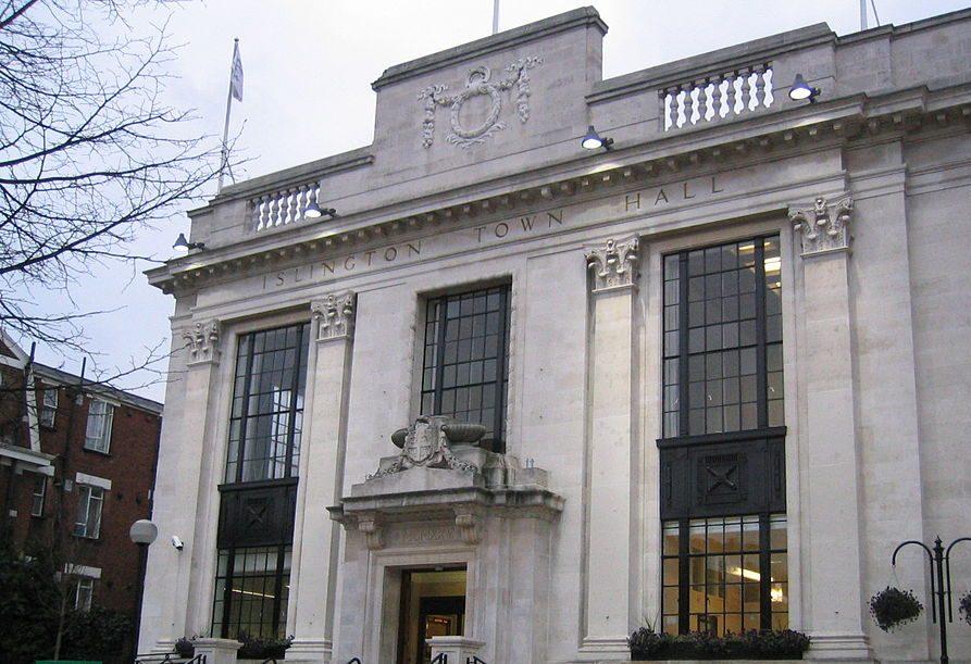 Islington Town Hall (Credit :WikiCommons)