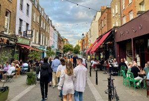 Traders want Exmouth Market to become fully pedestrianised (Credit: Elena Vardon)